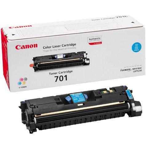 CANON EP701C TONER LBP5200 CYA 4K