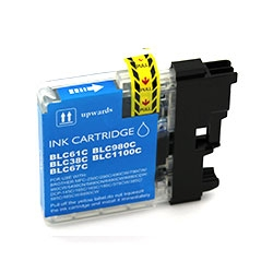 Cartus cerneala compatibil Brother LC980/LC985 CYAN