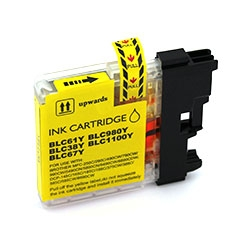 Cartus cerneala compatibil Brother LC980/LC985 YELLOW