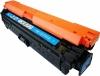 Cartus toner compatibil HP CE741A (307A) cyan - HP CP5220, CP5225 - 7.300 pagini