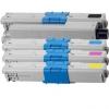 Cartus toner compatibil OKI C310 Yellow - Oki C310, C330, C510, C511, C531, C562, MC352, MC362, MC562 - 2.000 pagini